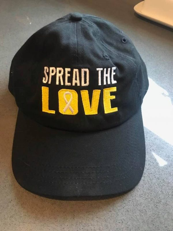 Spread the love black hat - alternate image